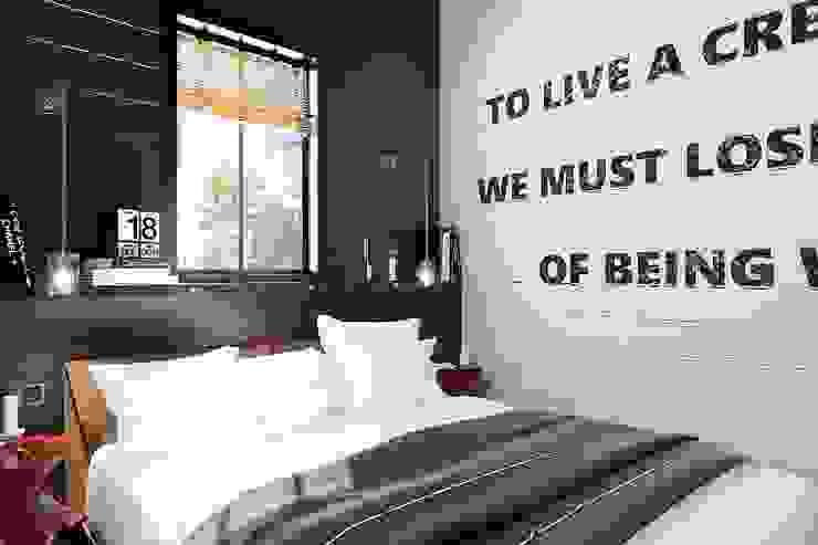 Industrial style bedroom by Студия братьев Жилиных Industrial