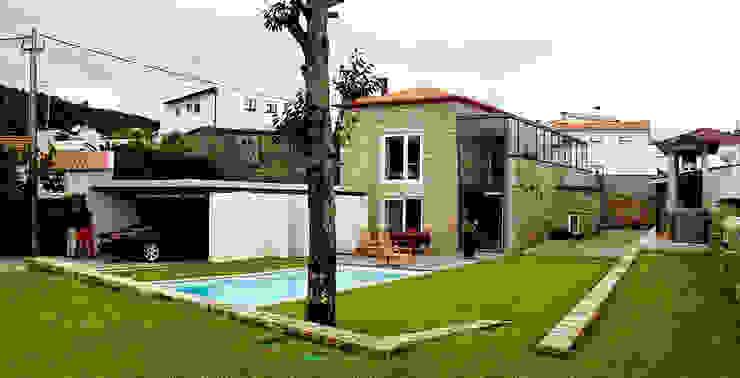 Jardim Jardins modernos por MANUEL CORREIA FERNANDES, ARQUITECTO E ASSOCIADOS Moderno