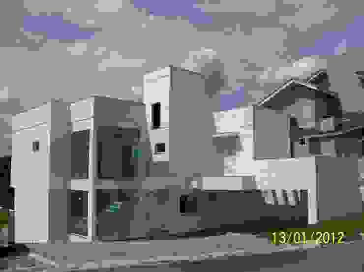 Residência MAdruga 1 Casas modernas por Henrique Thomaz Arquitetura e Interiores Moderno