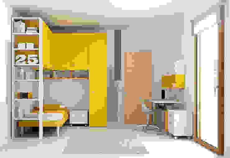 غرفة نوم تنفيذ Moretti Compact