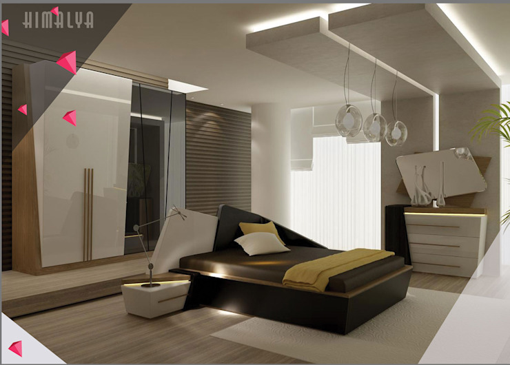 Gllamor Himalaya Brown bedroom: modern  by Gllamor,Modern