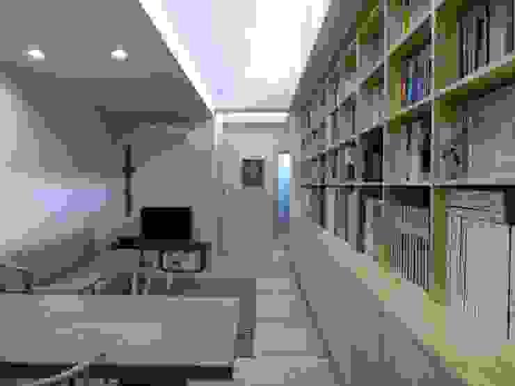 南魚屋町の家 ミニマルデザインの ダイニング の 簑原建築設計事務所 ミニマル 木 木目調