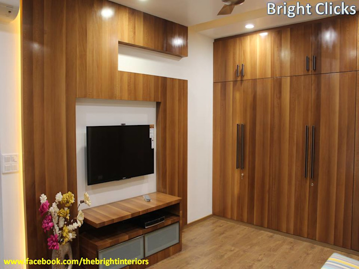 Bedroom Design: modern  by The Bright Interiors,Modern