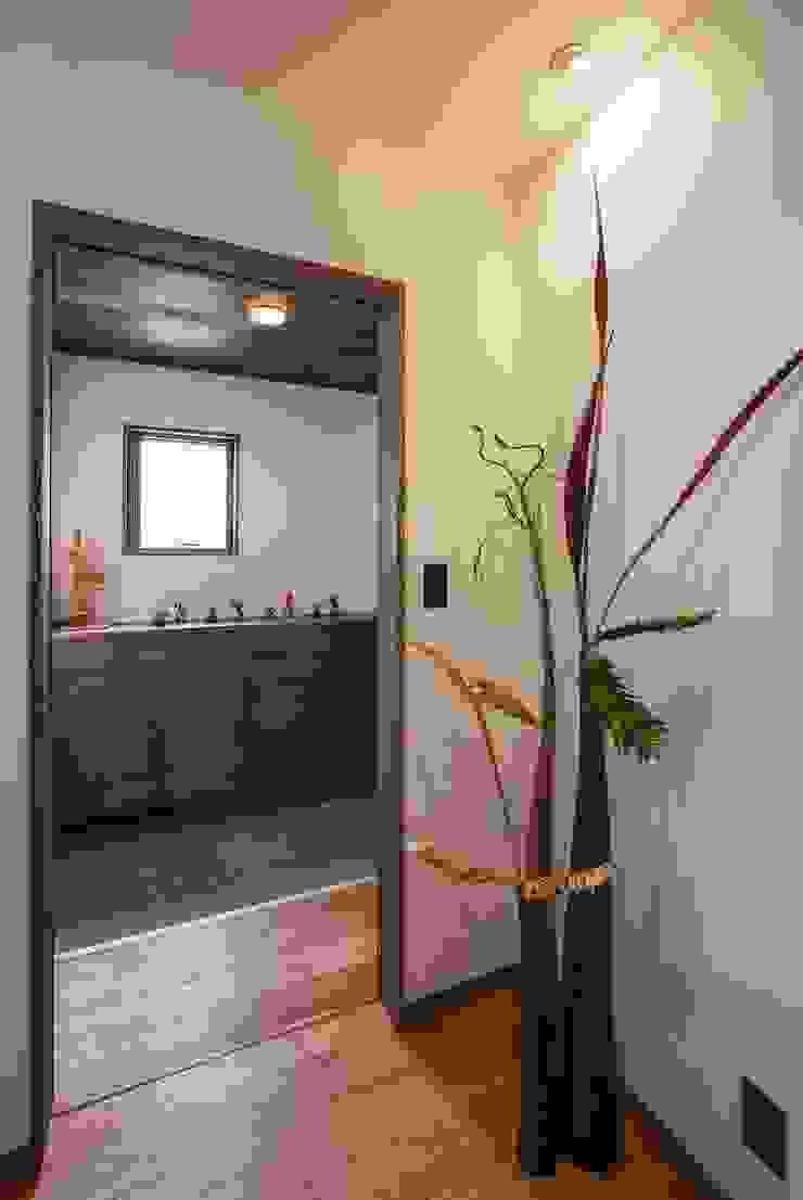 藤井下組の家 オリジナルスタイルの 玄関&廊下&階段 の 空間設計室/kukanarchi オリジナル