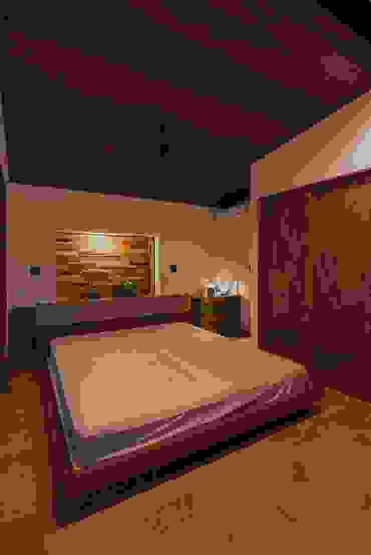 藤井下組の家 オリジナルスタイルの 寝室 の 空間設計室/kukanarchi オリジナル