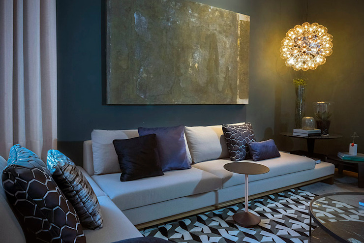 Soul Loft - Ambiente CASA COR SC 2015 Salas de estar modernas por Spengler Decor Moderno
