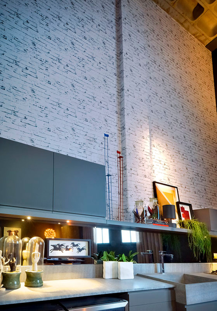 Soul Loft – Ambiente CASA COR SC 2015 Salas de estar modernas por Spengler Decor Moderno