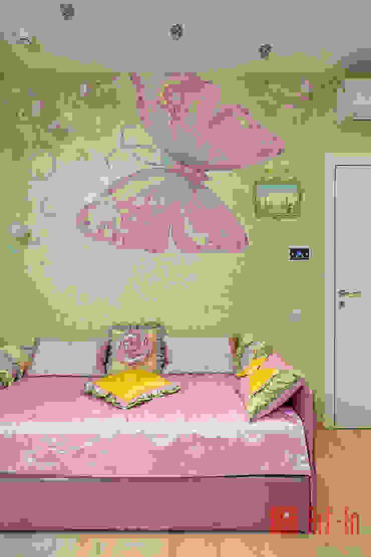 Роскошный оникс в Умном Доме Детские комната в эклектичном стиле от Art-In Эклектичный