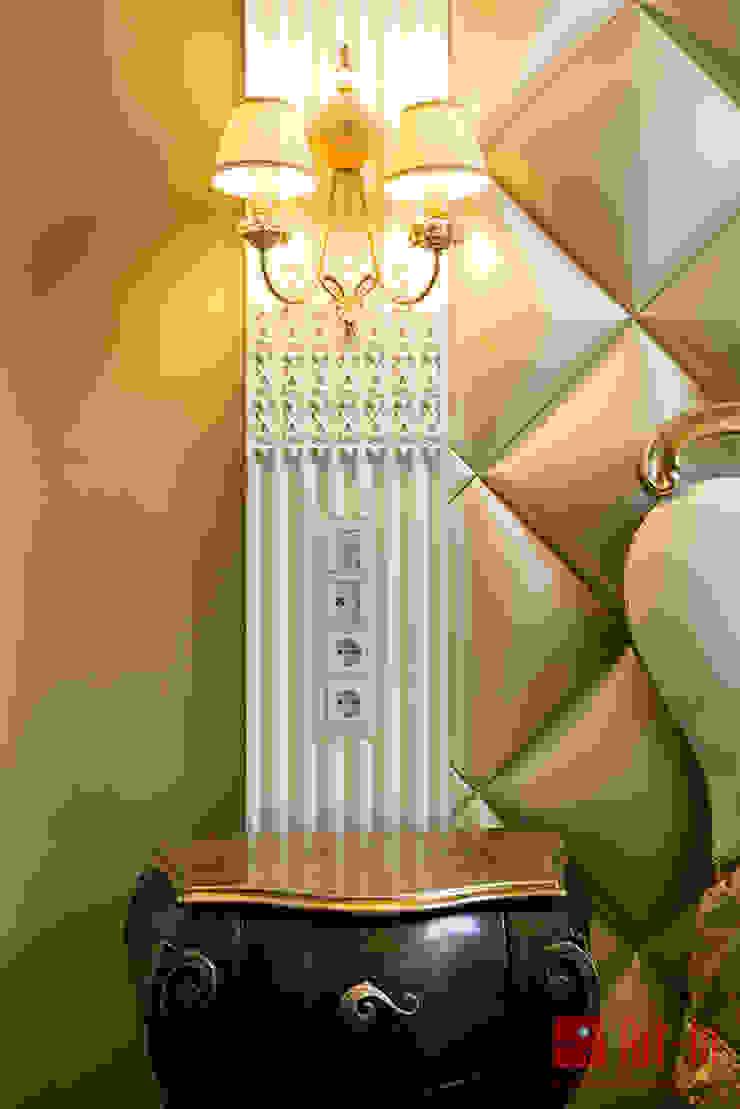 Роскошный оникс в Умном Доме Спальня в эклектичном стиле от Art-In Эклектичный