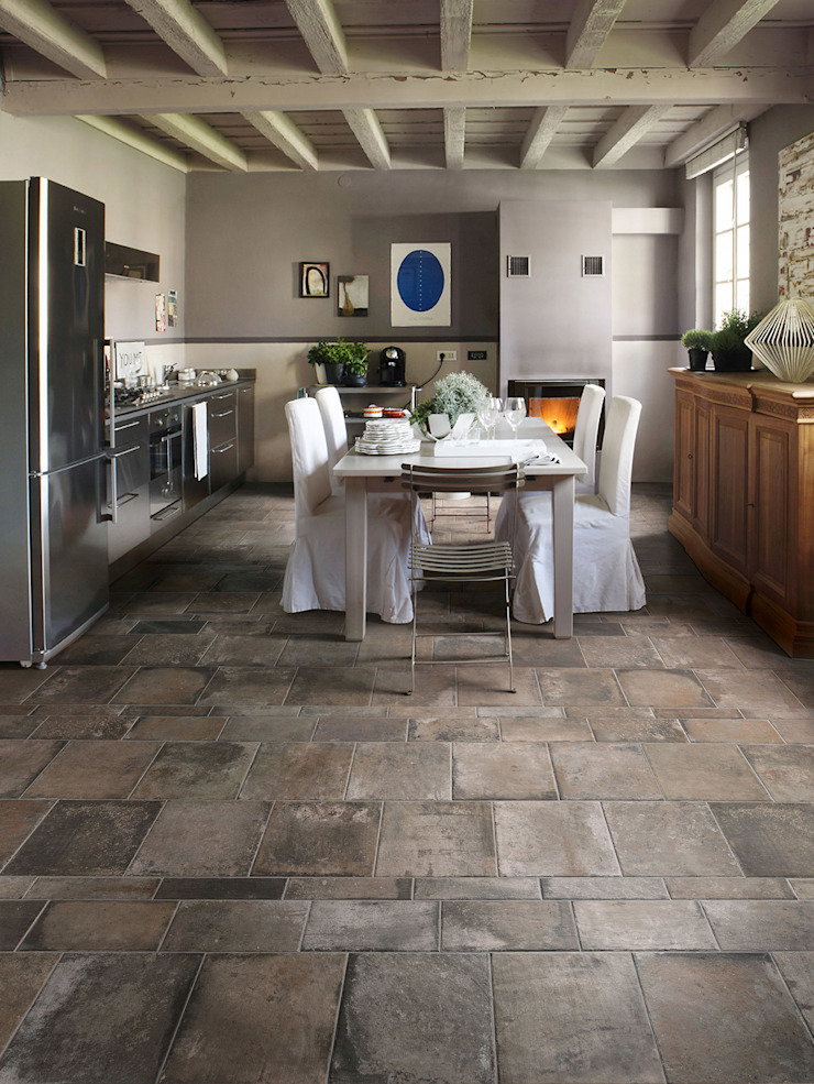 TERRE NUOVE Collection | ERFECT PROPORTIONS AMONG DIFFERENT SIZES de Ceramica Sant'Agostino Moderno Cerámico