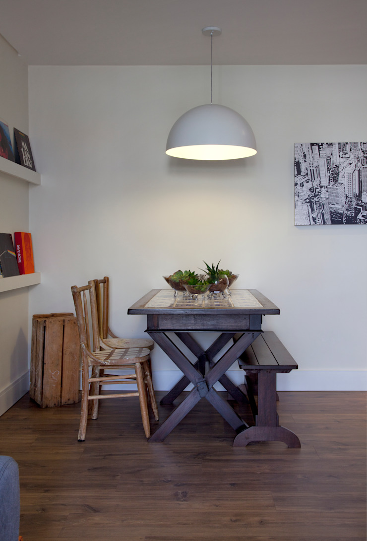 Modern dining room by UNION Architectural Concept Modern Wood-Plastic Composite
