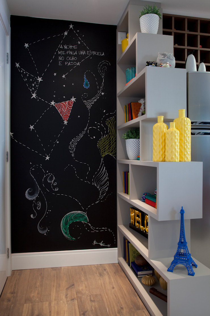 Cuisine moderne par UNION Architectural Concept Moderne Synthétique Marron