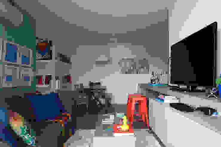 UNION Architectural Concept Modern living room Wood-Plastic Composite Orange