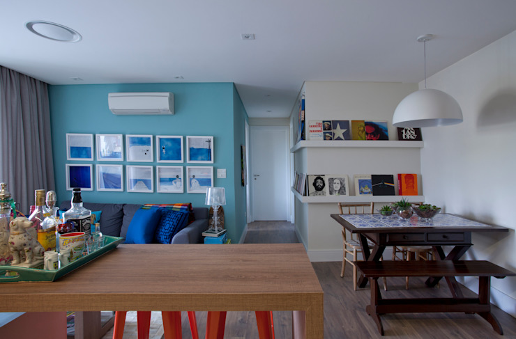 UNION Architectural Concept Modern living room Wood-Plastic Composite Multicolored