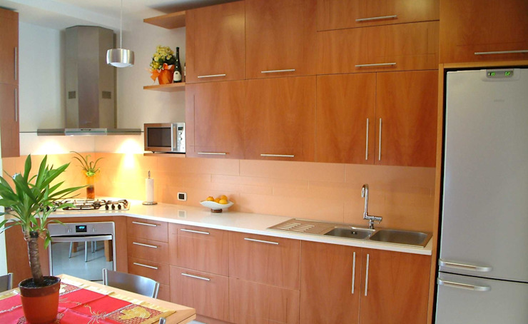 Adesign Modern kitchen Wood Wood effect