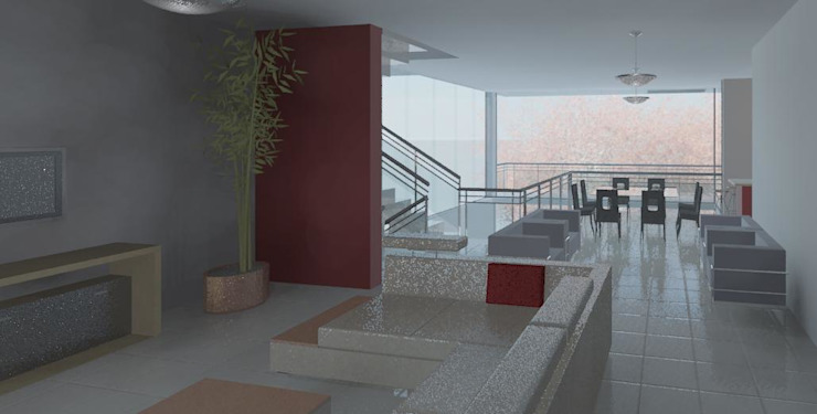 Estar/tv Salas de estar modernas por Henrique Thomaz Arquitetura e Interiores Moderno