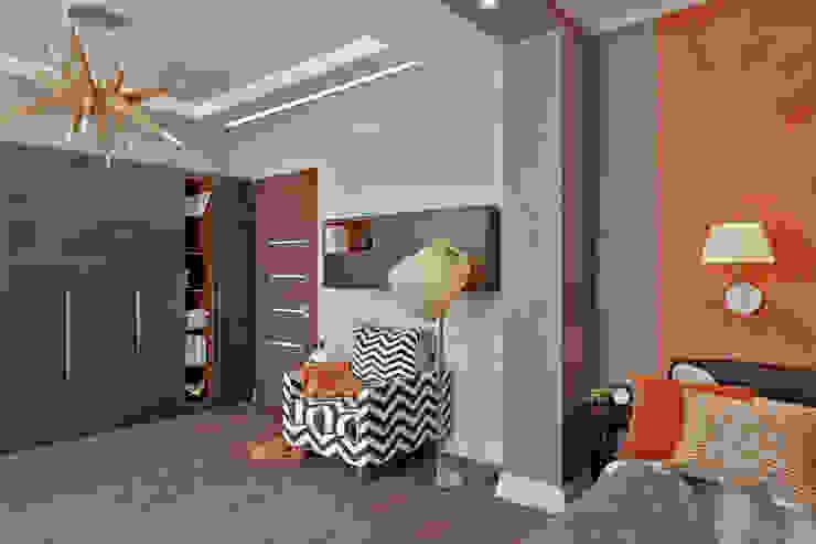 СВЕТЛАНА АГАПОВА ДИЗАЙН ИНТЕРЬЕРА Dormitorios infantiles de estilo minimalista