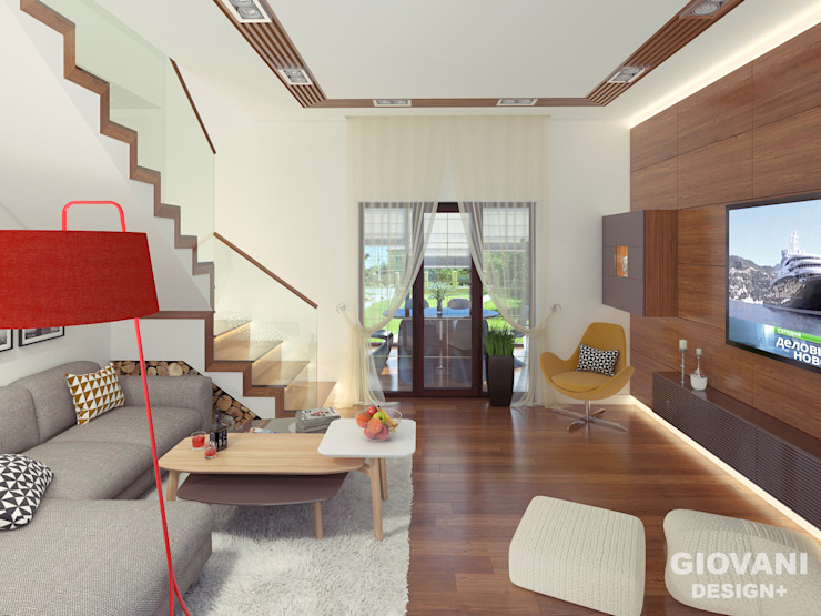 Гостиная Giovani Design Studio Гостиная в стиле минимализм