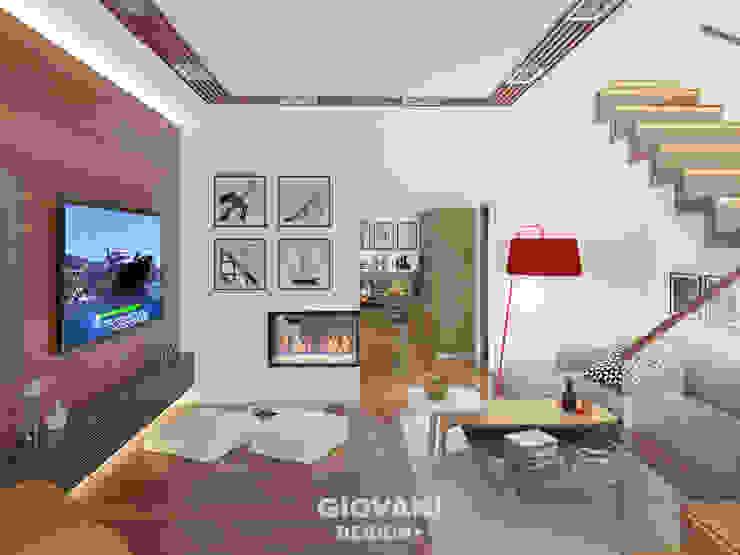 Salones de estilo minimalista de Giovani Design Studio Minimalista