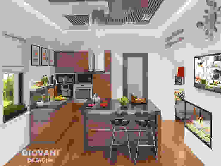 Cocinas de estilo minimalista de Giovani Design Studio Minimalista