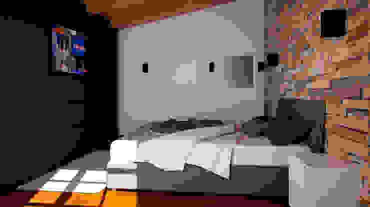 Dormitorios de estilo  por IA-Ingegneria e Architettura_Noemi Manzella