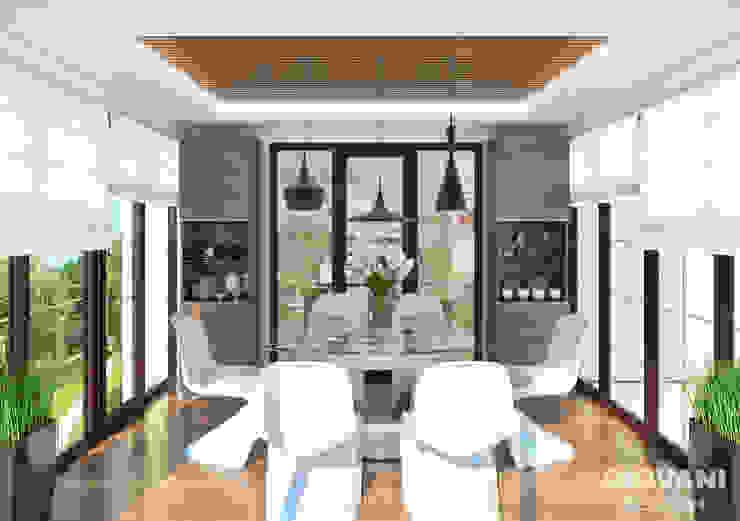 Столовая Giovani Design Studio Кухня в стиле минимализм