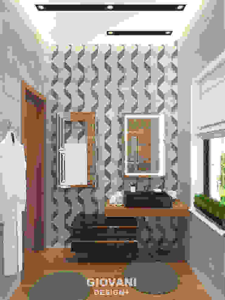 Гостевой санузел Giovani Design Studio Ванная комната в стиле минимализм