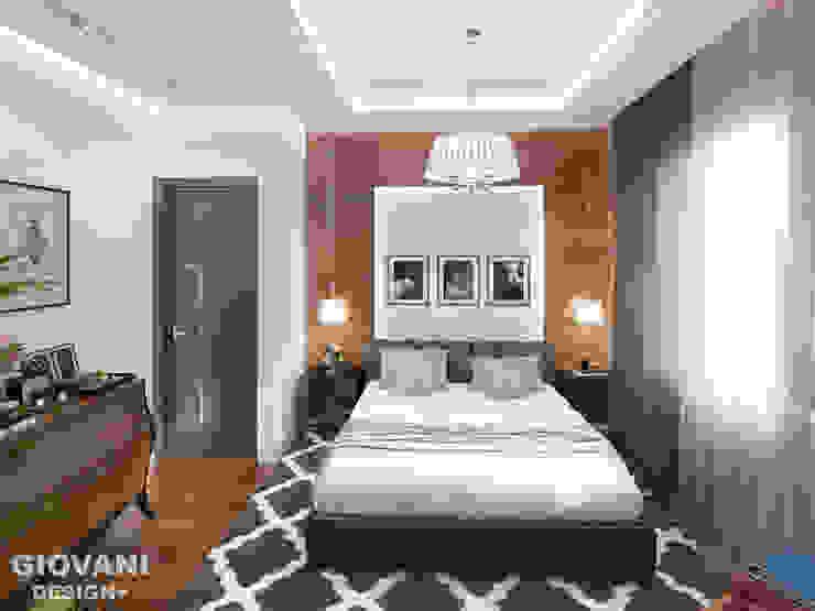Мастер - спальня Giovani Design Studio Спальня в стиле минимализм