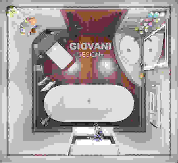 Мастер - ванная комната Giovani Design Studio Ванная комната в стиле минимализм