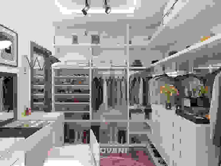 Гардеробная комната Giovani Design Studio Гардеробная в стиле минимализм