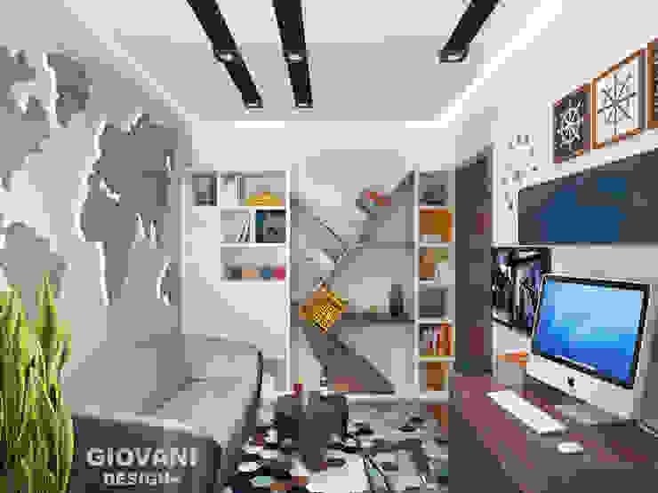 Кабинет Giovani Design Studio Рабочий кабинет в стиле минимализм
