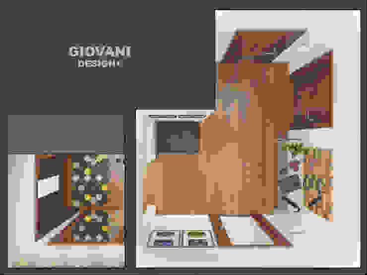 Pasillos, vestíbulos y escaleras de estilo minimalista de Giovani Design Studio Minimalista