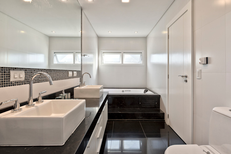 Angelica Pecego Arquitetura Classic style bathroom