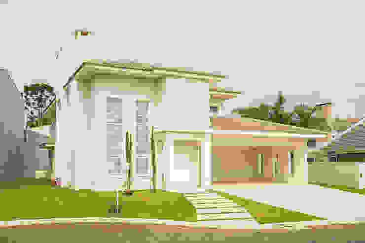 RRBT Casas ecléticas por Angelica Pecego Arquitetura Eclético