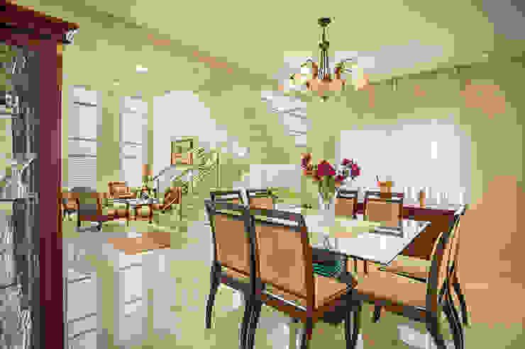 RRBT Salas de jantar ecléticas por Angelica Pecego Arquitetura Eclético