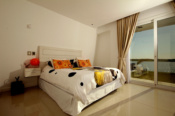 Casa MaLi Dormitorios modernos: Ideas, imágenes y decoración de MiD Arquitectura Moderno