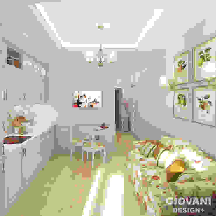 Городской прованс. Кухня Кухня в стиле кантри от Giovani Design Studio Кантри