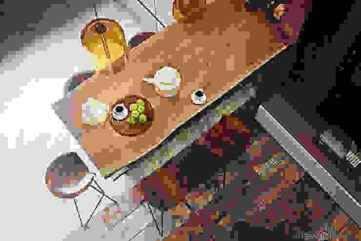 Salle à manger originale par Yurii Hrytsenko Éclectique