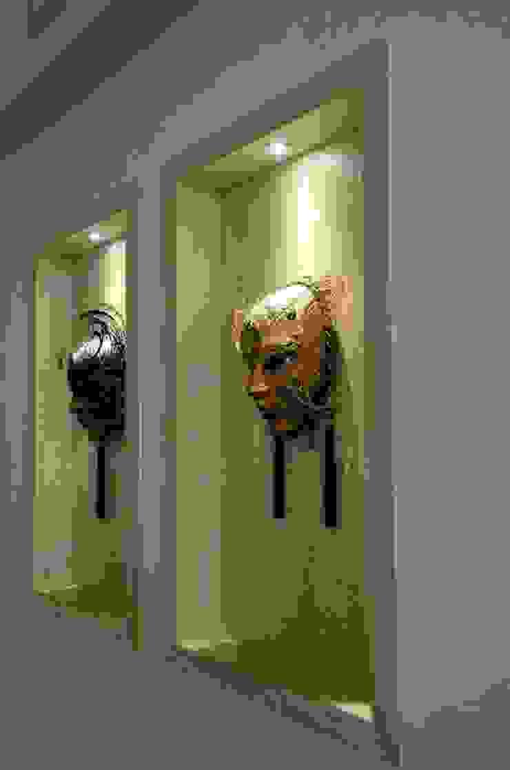Hall de entrada Salas de jantar modernas por Giovana Martins Arquitetura & Interiores Moderno