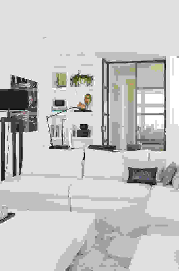 Appartement aan Zee Moderne woonkamers van Grego Design Studio Modern