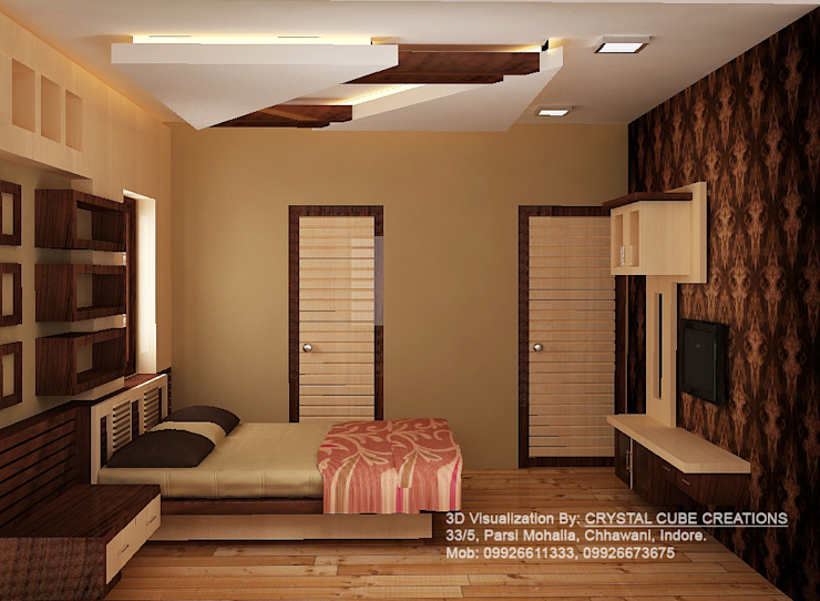 a interior project Modern style bedroom by M Design Modern