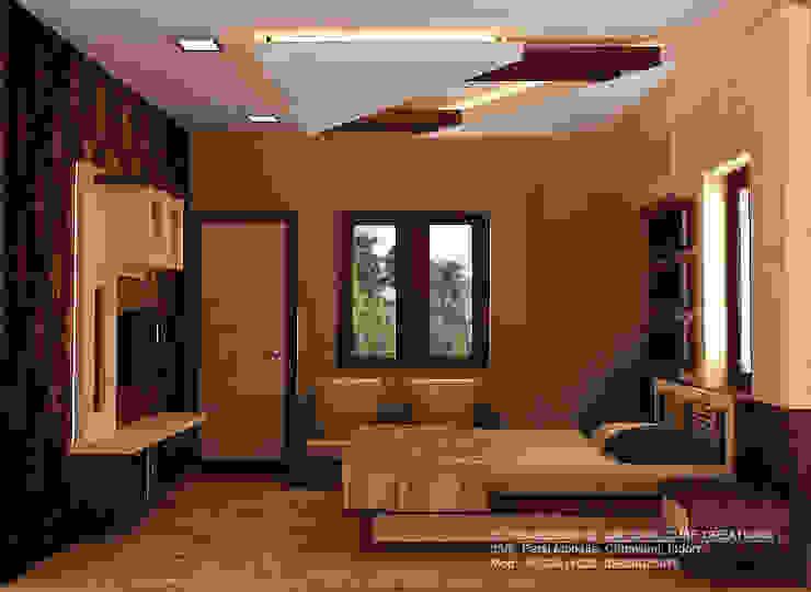 غرفة نوم تنفيذ M Design , حداثي