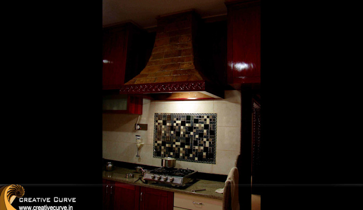 Traditional Interior design Asian style kitchen by Creative Curve Asian