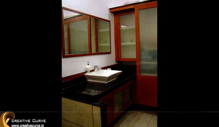 Traditional Interior design Asian style bathroom by Creative Curve Asian
