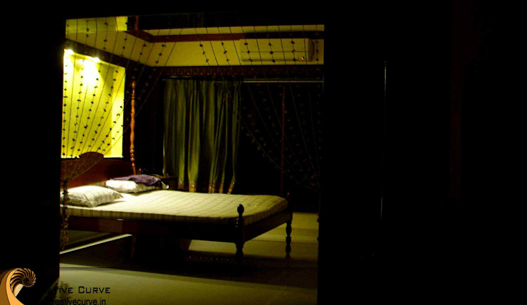 Traditional Interior design Asian style bedroom by Creative Curve Asian