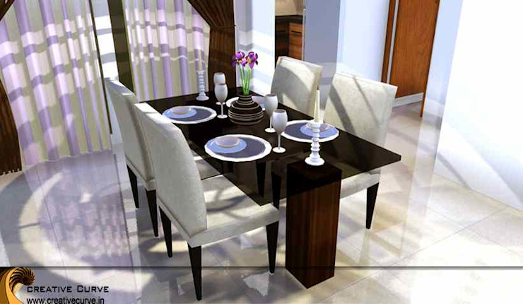 Interior Design Classic style dining room by Creative Curve Classic