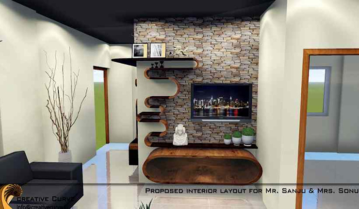 Interior Design Classic style living room by Creative Curve Classic