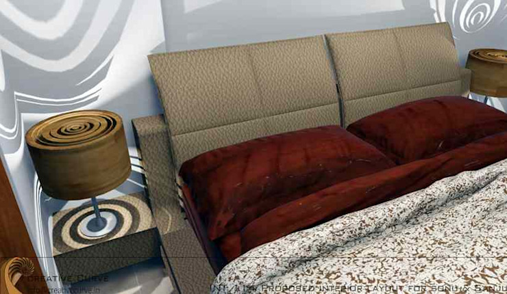 Interior Design Classic style bedroom by Creative Curve Classic