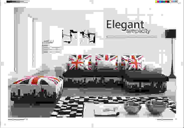 Gllamor fabric sofa: modern  by Gllamor,Modern