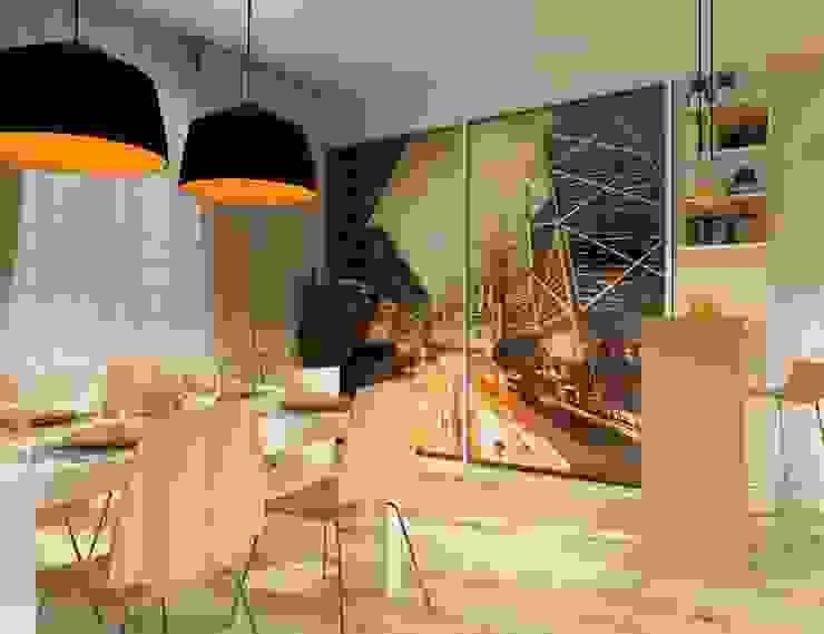 Урбанистический уют Кухни в эклектичном стиле от Ирина Альсмит Эклектичный